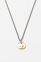 Yellow Gold/Silver Musca Necklace