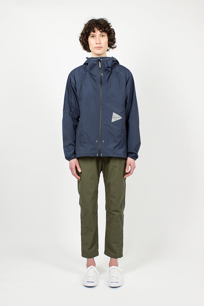 Navy Light Rain Jacket