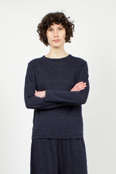 Indigo Long Sleeve Top