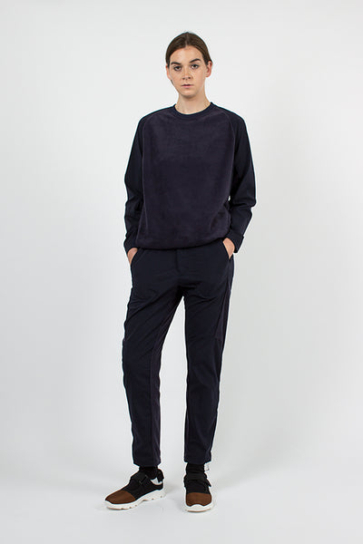 Navy Fleece Base Pants
