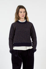 Birdseye Crewneck Sweater