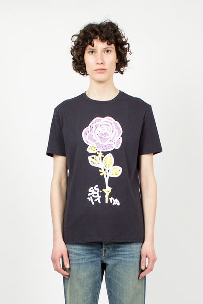 Marker Rose Boy T Navy
