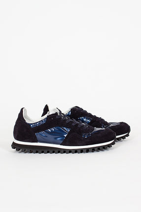 Spalwart X CDG Dark Navy Marathon Trail Low Sneaker