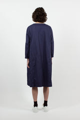 Notting 3/4 Sleeve Dress Blue