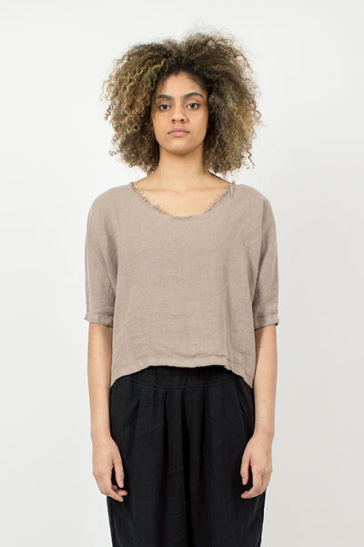 Oatmeal Dolman Top