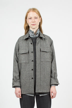 Glen Plaid C.P.O Shirt Jacket