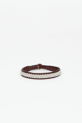 Ox Brown Hide A Bracelet 4