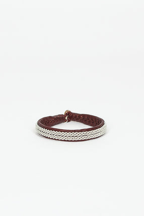 Ox Brown Hide A Bracelet 1