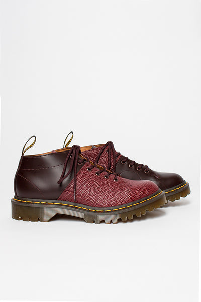 Oxblood/Cherry Red Pebble EG x DM Church Boot