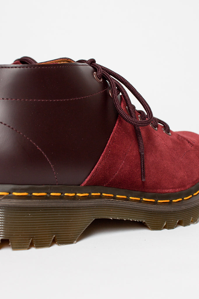 Oxblood/Red Earth Suede EG x DM Church Boot