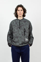 Vent Pullover Charcoal Pine Print