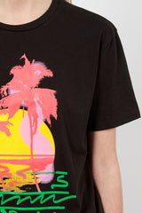 Palms Boy T Jet Black