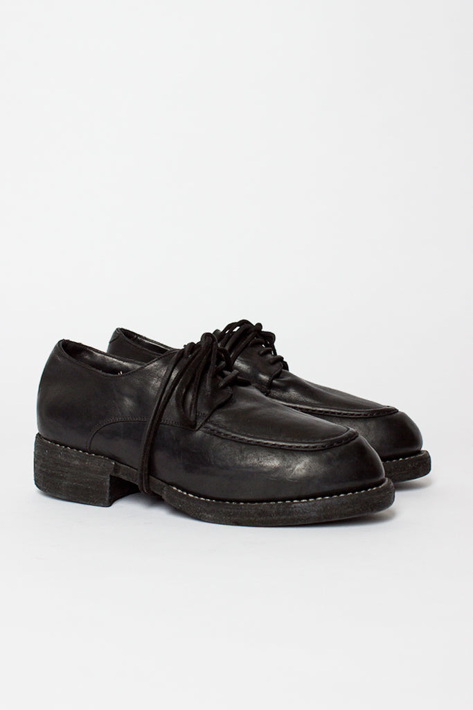 NT02Z Black Wedged Derby