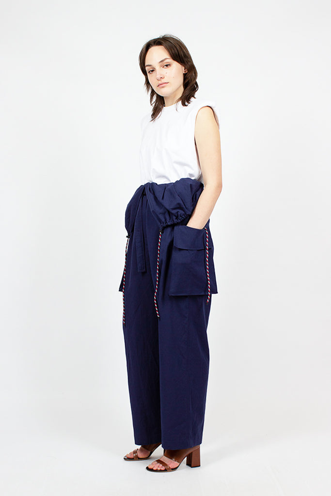 Jumpsuit Trousers Indigo