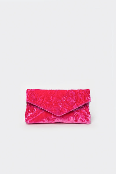 Fuchsia Mini Envelope Bag