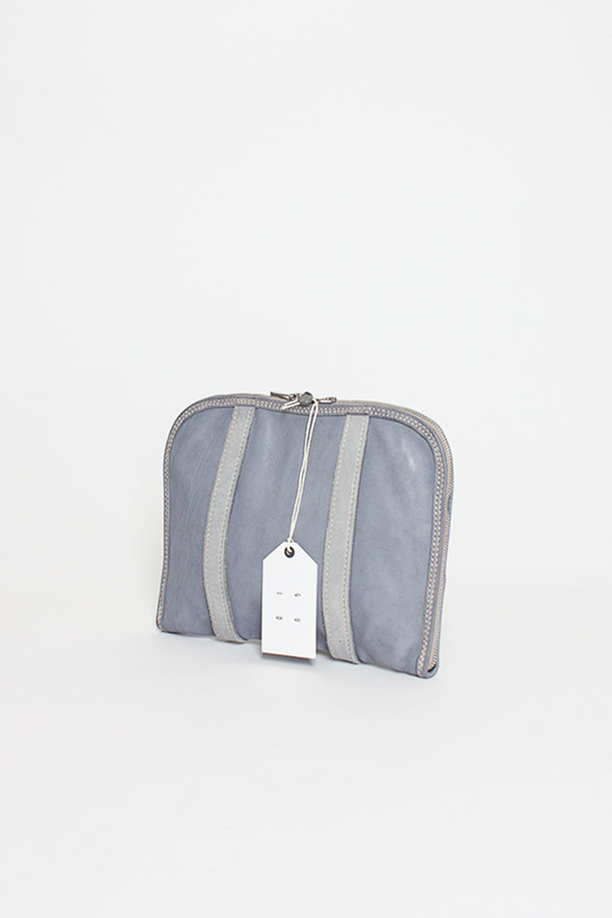 GB0002 Soft Grey Medium Pouch