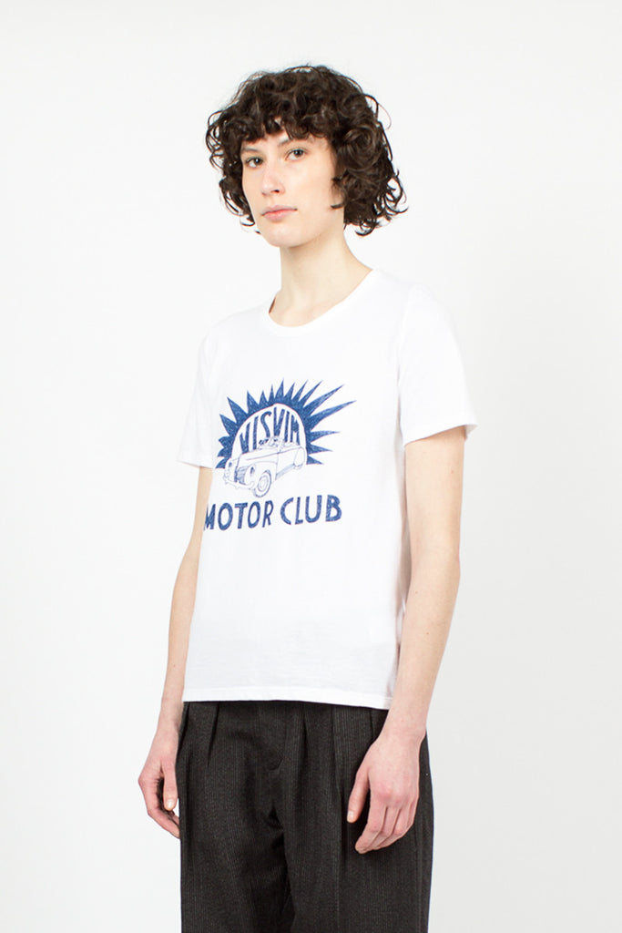 'Motor Club' T-Shirt Blue