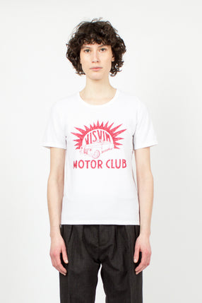 'Motor Club' T-Shirt Red
