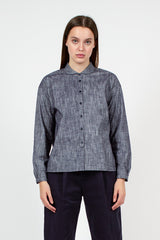 Marianne Navy Shirt