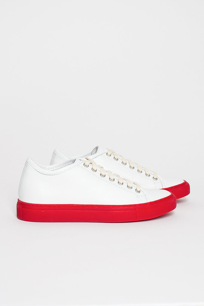 Frida LNAP Sneaker White/Red