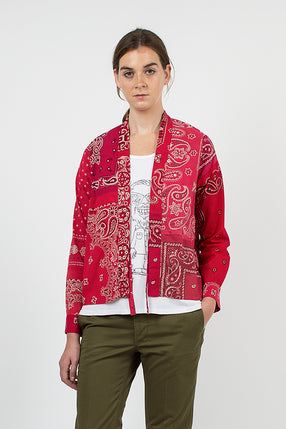Lhamo Red Bandana Shirt