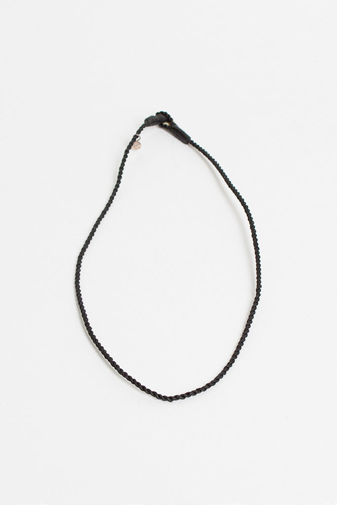 Valli H Black Necklace