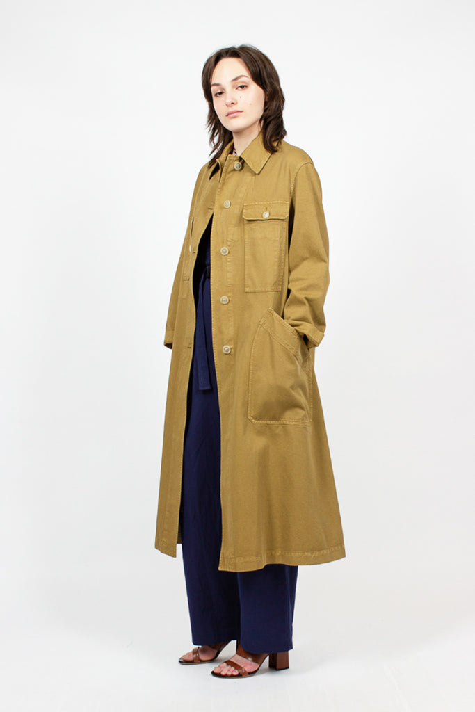 Long Umber Coat