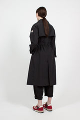 Black Roche Trench Coat