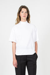 Optic White Cropped T-Shirt