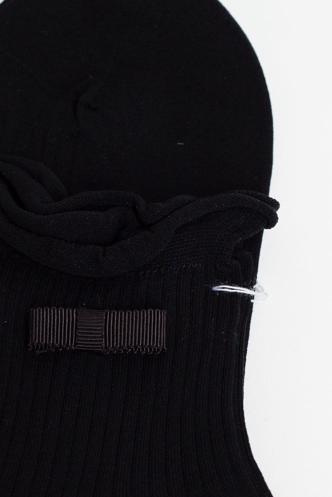 Black Ruffle Socks