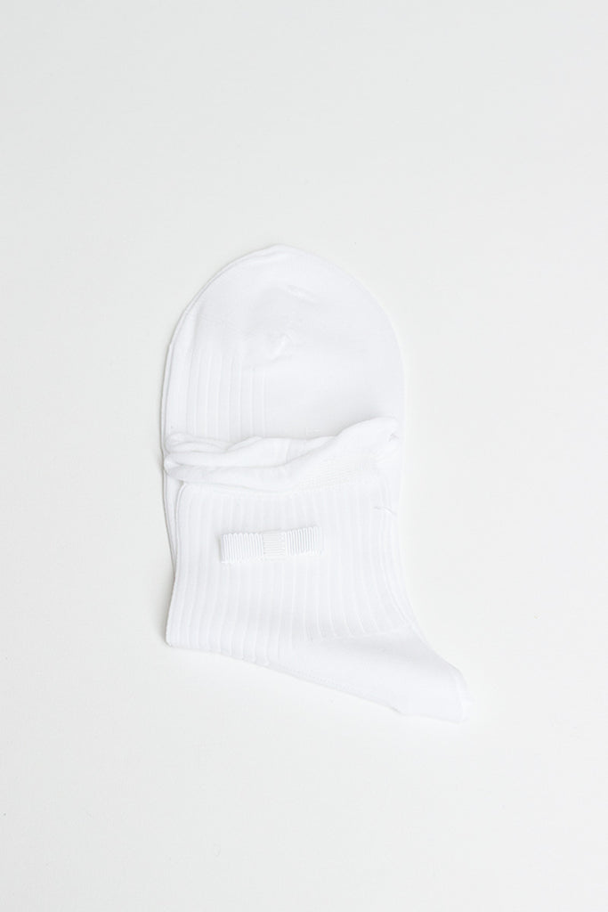 White Ruffle Sock