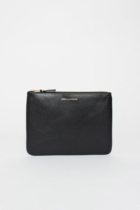 SA5100 Black Classic Leather Pouch