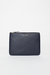 SA5100 Classic Leather Pouch Navy