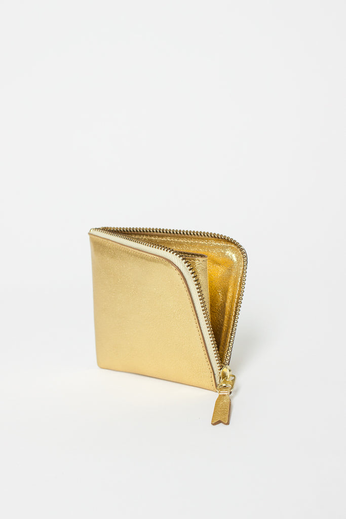 SA3100G Leather Coin Purse Gold