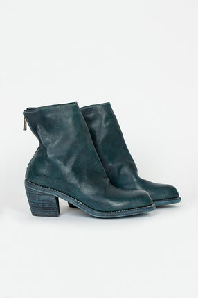 SB06D Full Grain Cuban Heel Zip Back Boot CV72T