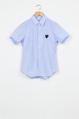 PLAY Blue Short Sleeve Shirt
