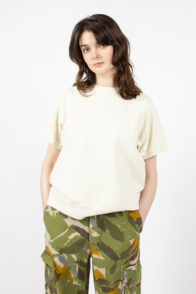 J-59 Short Sleeve Crewneck Natural