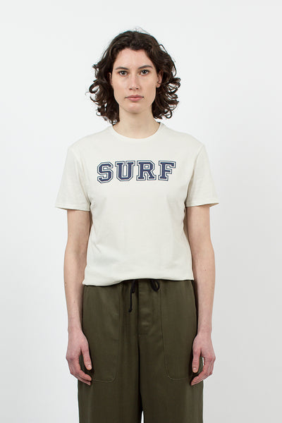 White 'SURF' Boy T