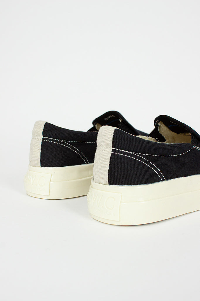 Lister Canvas Black