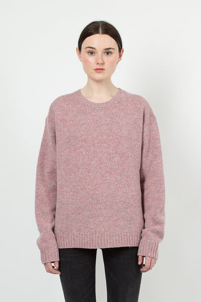 Samara Dusty Pink Wool Sweater