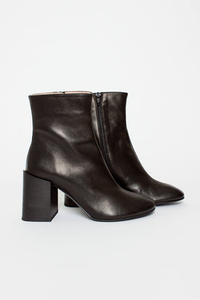 Black Saul Leather Boots