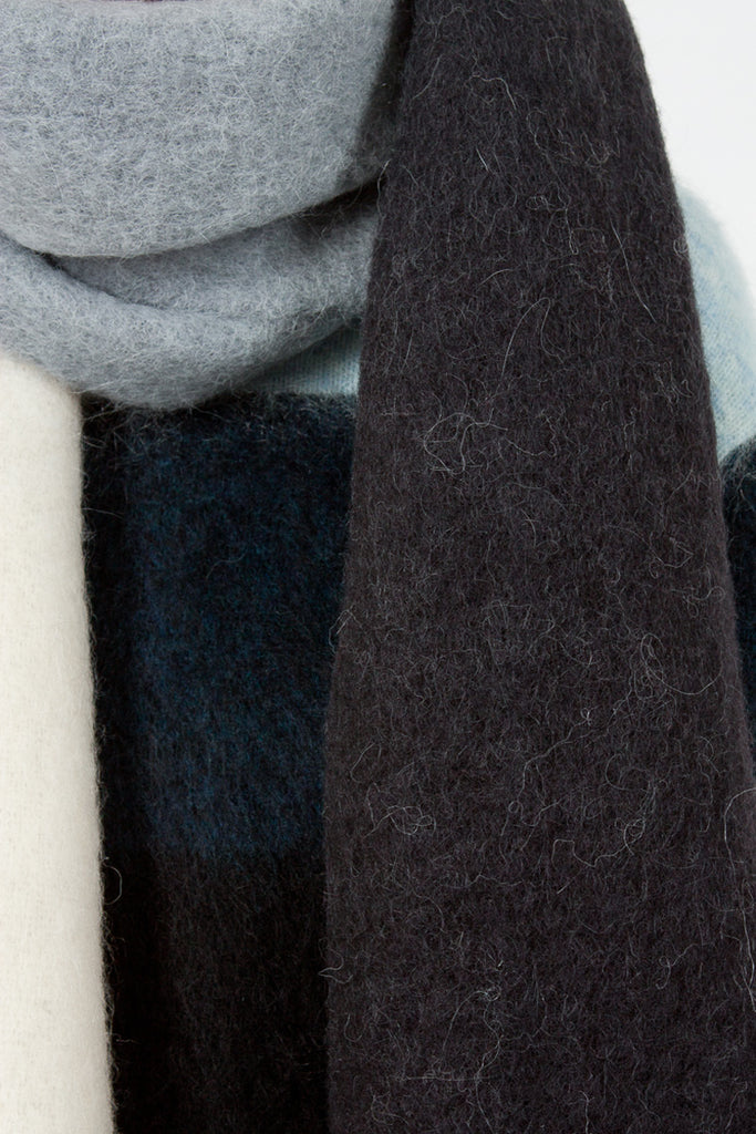 Charcoal Kelow Dye Scarf