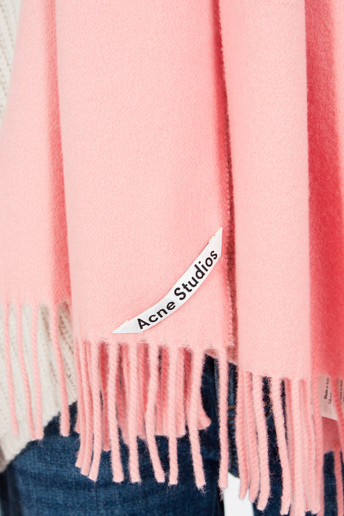 Canada Narrow Scarf Pale Pink