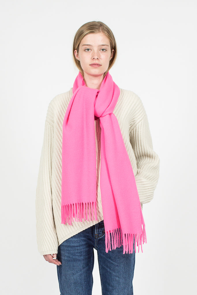 Canada Narrow Scarf Fluo Pink