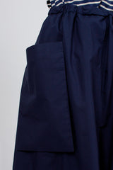 Seville Flared Skirt Navy