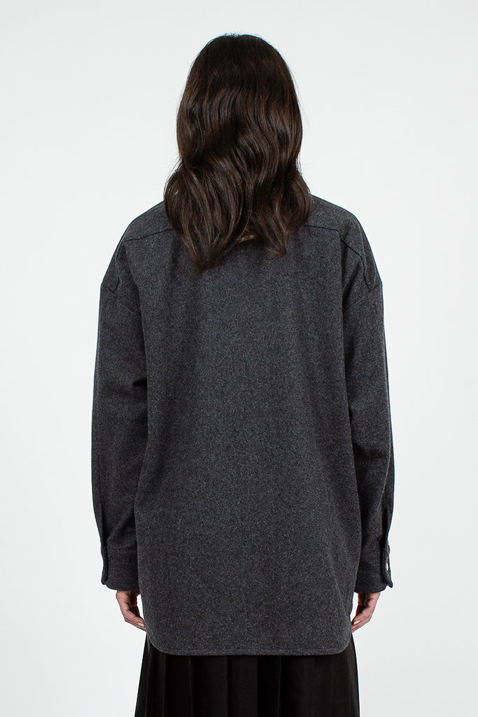Charcoal Grey Shanelle Flannel