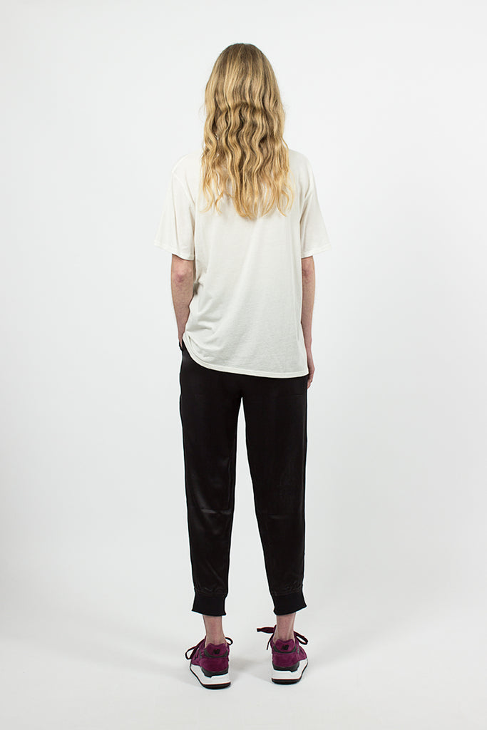 Silk Sweatpant Black