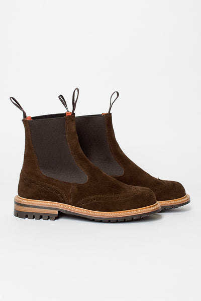 Silvia Chocolate Repello Suede Boot