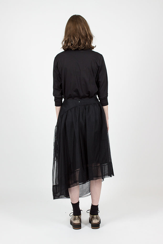 Ruched Flower Skirt