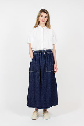 Denim Climbing Skirt
